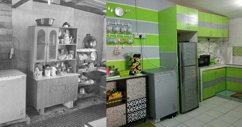 Perlahan Lahan Kayuh 2 Bulan Untuk Bina Dapur Kampung Ni Nampak Cantik