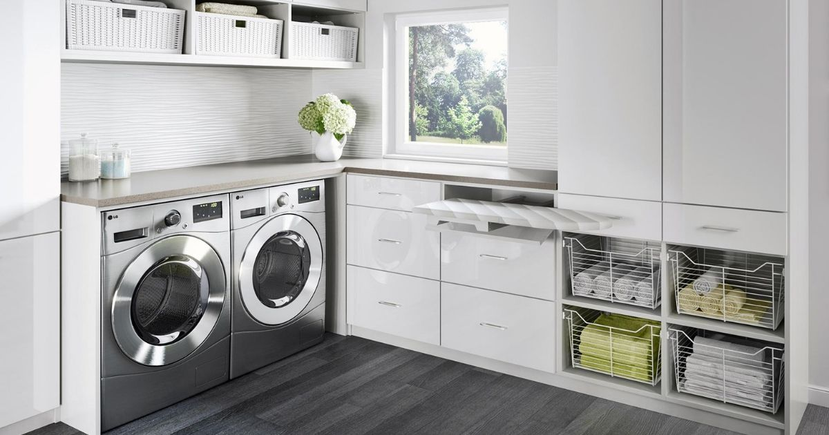 10 Idea Laundry Room Ini Bakal Buat Kediaman Anda Lebih Kemas Dan Teratur